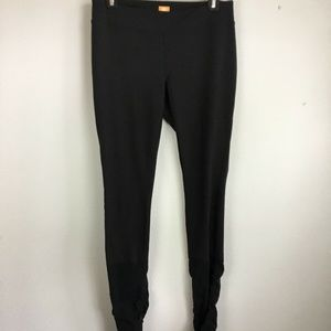 Lucy Leggings L Charcoal Black PowermaX Ruched